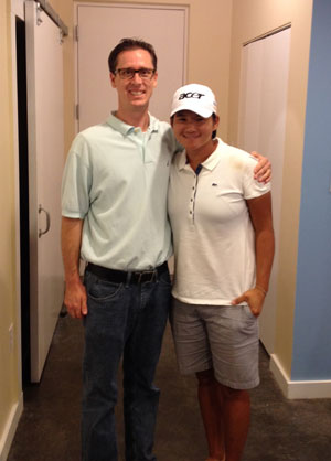 Brian Moriarty, D.C. and Yani Tseng, 5-time Major Golf Champion
