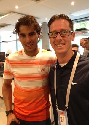 Brian Moriarty, D.C. & Rafael Nadal, French Open 2013